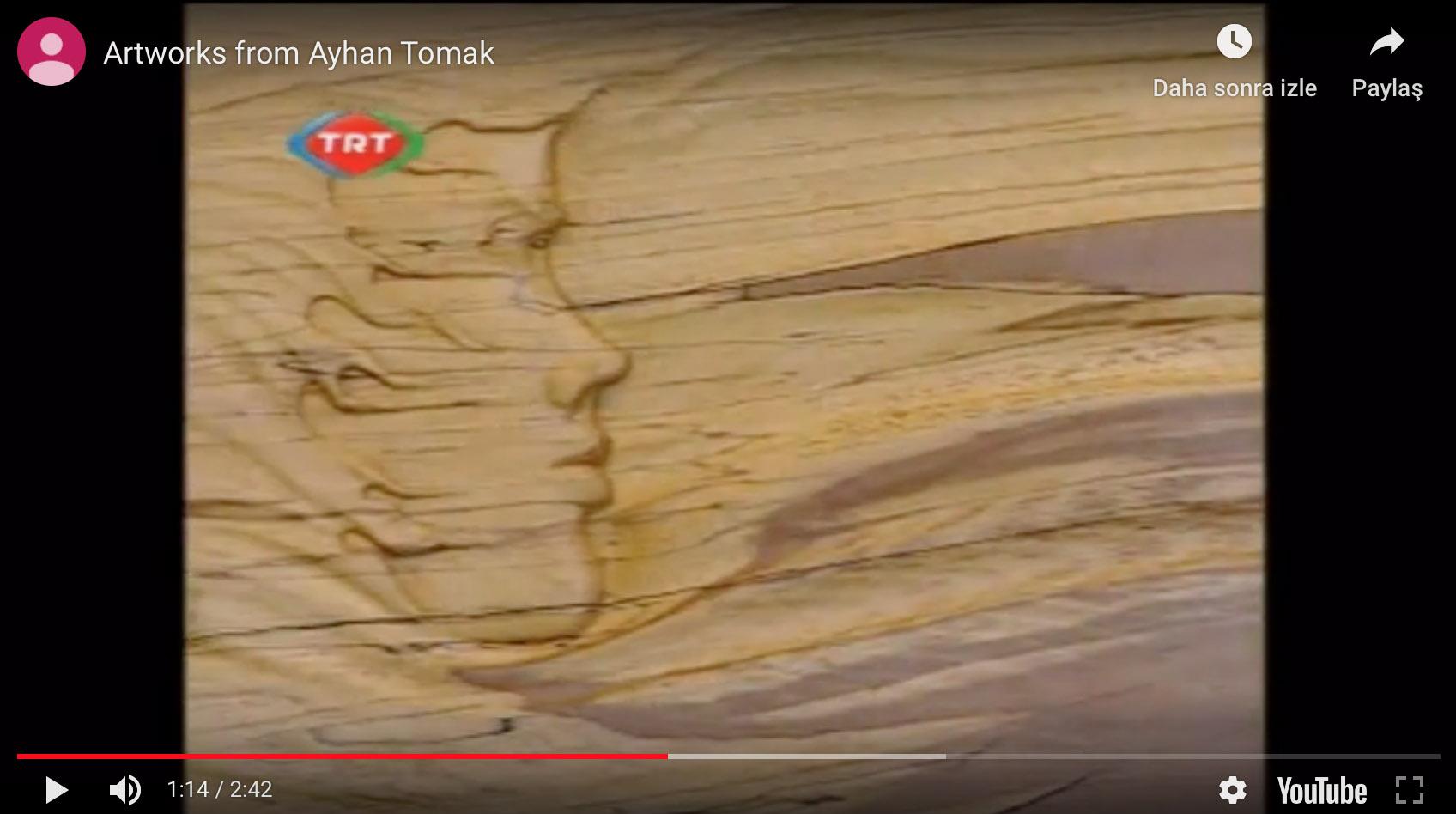 Ayhan TOMAK Resim Ve Heykel Haber, TRT, 2010